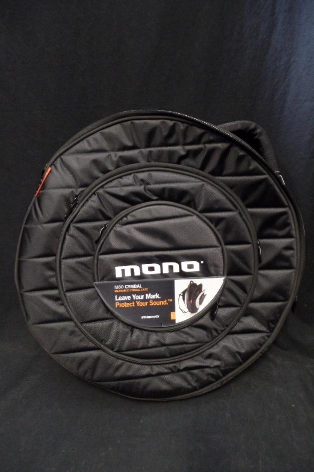 "Mono M80-CY22 22"" Multi Pocket Cymbal Packpack Gig Bag *"