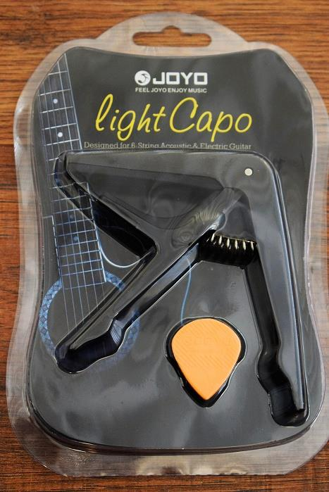 Joyo JCP-01 Light Capo 6 String Acoustic or Electric Guitar Capo Black