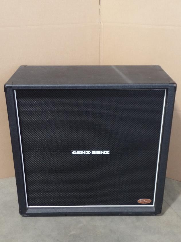 Genz Benz Tribal Series TS412 4x12 Electric Guitar Speaker Cabinet Eminence 9072