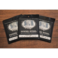 SIT Strings PS1046 Power Steel Stainless Steel Electric Guitar Strings 3 Pack