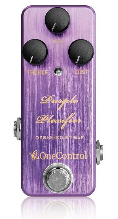 One Control BJF Purple Plexifier Distortion Guitar Effect Pedal