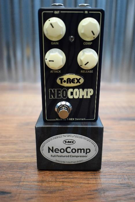 T-Rex Effects Neo Comp Compressor Guitar Effect Pedal Demo #12