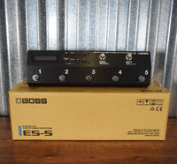 Boss ES-5 Guitar Effect Pedal Switching Selector System