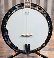 Ortega Guitars Falcon OBJ550WTE-SNT Satin Walnut 4 String Tenor Banjo & Bag #0006