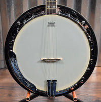 Ortega Guitars Falcon OBJ550WTE-SNT Satin Walnut 4 String Tenor Banjo & Bag #0011