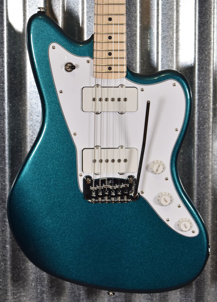 G&L USA Doheny Emerald Blue Metallic Guitar & Case #4188