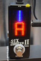 Outlaw Effects Six Shooter II Chromatic Tuner Guitar Effect Pedal
