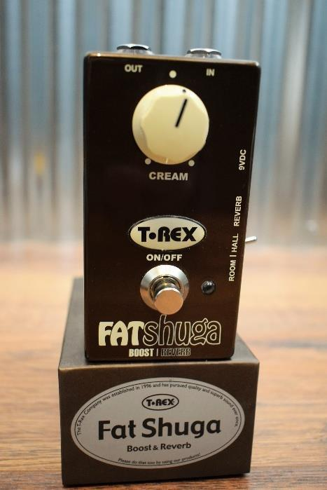 T-Rex  Engineering Fat Shuga Boost & Reverb Guitar Effect Pedal Demo #1902