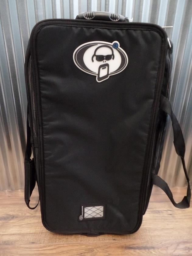 "Protection Racket 5028W-09 28""x14""x10"" Hardware Bag with Wheels #4015 *"