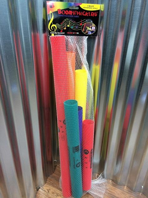 Boomwhackers BWPG C Major Pentatonic Scale 6 Tuned Tube Set *