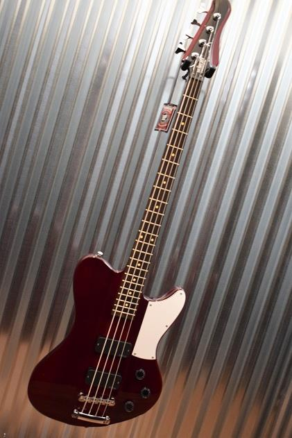 Schecter Guitar Research Ultra Bass 4 String See Through Cherry Thunderbird 899