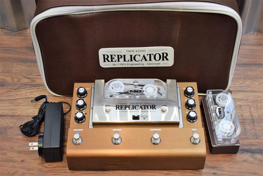 T-Rex Engineering Replicator Tape Echo Guitar Effect Pedal & Case B Stock #601