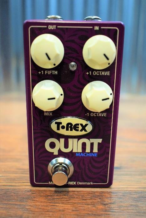 T-Rex Quint Machine 4 Tone Generator Octave & Fifth Guitar Effects Pedal #16