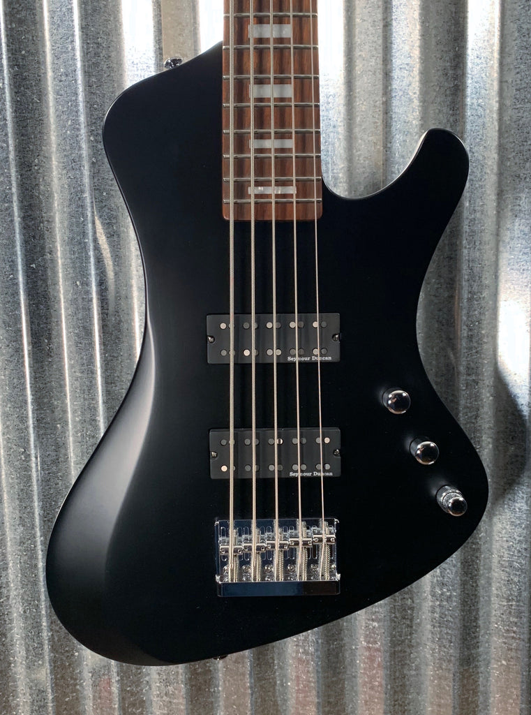 ESP LTD STREAM-205 Black Satin Seymour Duncan 5 String Bass & Bag LSTREAM205BLKS #6406 Demo