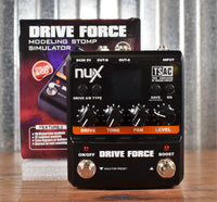 NUX Drive Force Modeling Distortion Overdrive Guitar Effect Pedal