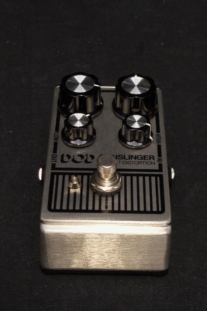 Digitech DOD Gunslinger Mosfet Distortion Guitar Effects Pedal