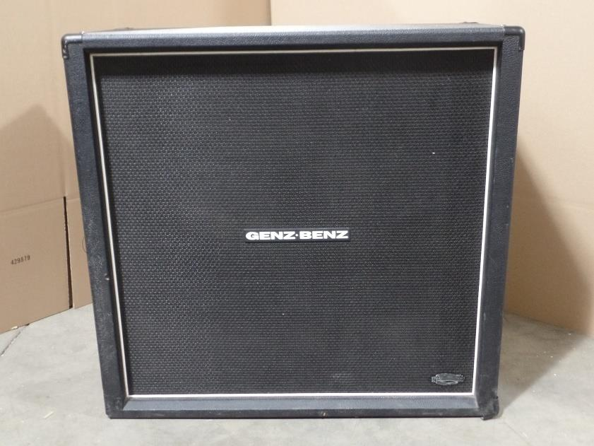 Genz Benz Tribal Series TS412 4x12 Electric Guitar Speaker Cabinet Eminence 6031