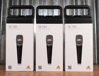 Behringer SB78A Cardioid Condenser Hand Held Microphone 3 Pack