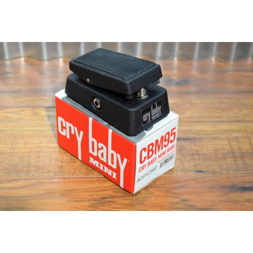 Dunlop CBM95 Cry Baby Mini Wah Guitar Effect Pedal B Stock
