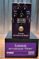 Dunlop MXR M82 Bass Envelope Filter Bass Guitar Effect Pedal