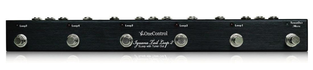 One Control Iguana Tail Loop 2 Five Effect Loop Switcher & Power Distributor Pedal