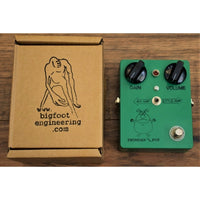 Bigfoot Engineering Thunder Pup Classic British Overdrive Green Guitar Effect Pedal