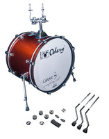 Odery Drums CafeKit Expansion 20 x 16 Kick Drum IRCAFE-EXP-CS Copper Sparkle
