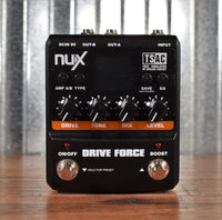 NUX Drive Force Modeling Distortion Overdrive Guitar Effect Pedal Demo