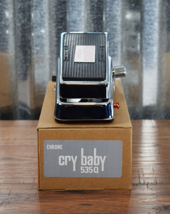 Dunlop 535Q-C Cry Baby Multi Wah Chrome Guitar Effect Pedal