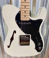 G&L USA Fullerton Custom ASAT Classic Semi-Hollow Thinline Alpine White Guitar & Case #4119