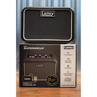 Laney Mini SuperG SuperGroup Battery Powered Portable Guitar Combo Amplifier