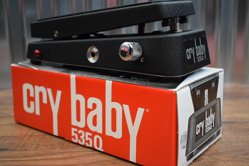 Dunlop Cry Baby GCB535Q Multi-Wah Crybaby Guitar Effect Pedal