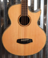 Ortega Guitars Ken Taylor KTSM-4 Four String Acoustic Electric Bass & Bag #3701
