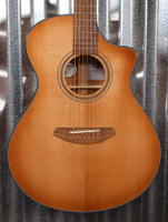 Breedlove Organic Signature Concert Copper CE Torrefied Acoustic Electric Guitar & Bag #2672