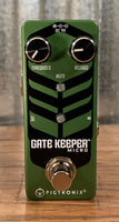 Pigtronix GKM Gatekeeper Micro Noise Gate Guitar Bass Effect Pedal Demo