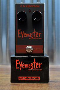 TC Electronic Eyemaster Metal Distortion Guitar Effect Pedal