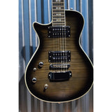 Hagstrom Ultra Swede ULSWE-L-CBB Cosmic Black Burst Left Hand Guitar & Bag #21