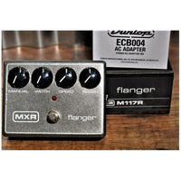 Dunlop MXR M117R Flanger Guitar Effect Pedal & Power Supply
