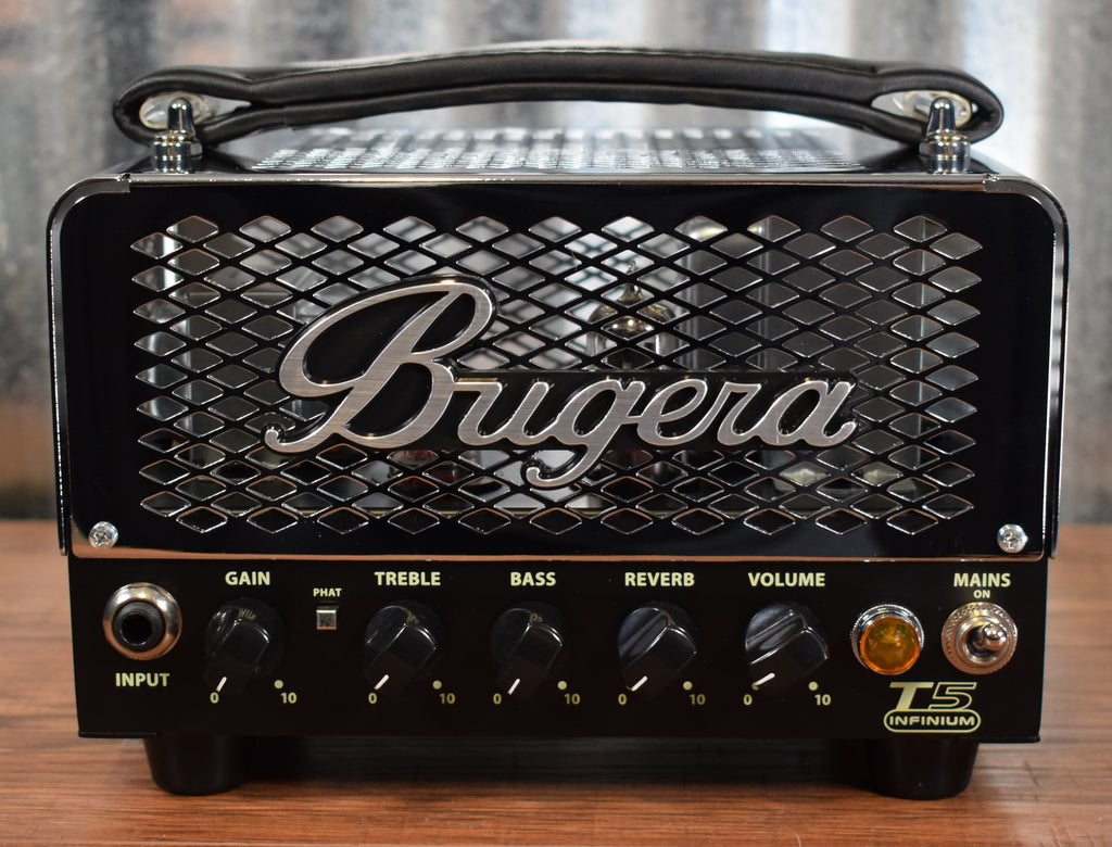 Bugera T5-Infinium 5 Watt Tube Reverb Guitar Head Amplifier