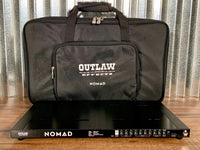 Outlaw Effects Nomad M128 Medium Rechargeable Battery Powered Pedalboard & Bag