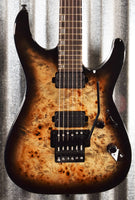 ESP LTD H-1001FR Black Natural Burst Seymour Duncan Guitar H1001FRBPBLKNB #0205 Demo