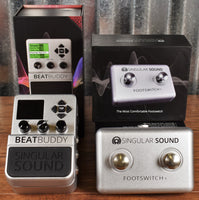 Singular Sound BeatBuddy Drum Machine Guitar Effect Pedal & Dual Footswitch +
