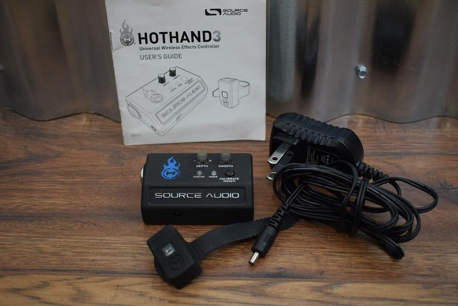 Source Audio Hot Hand 3 Wirless Guitar Bass Effects Controller HotHand