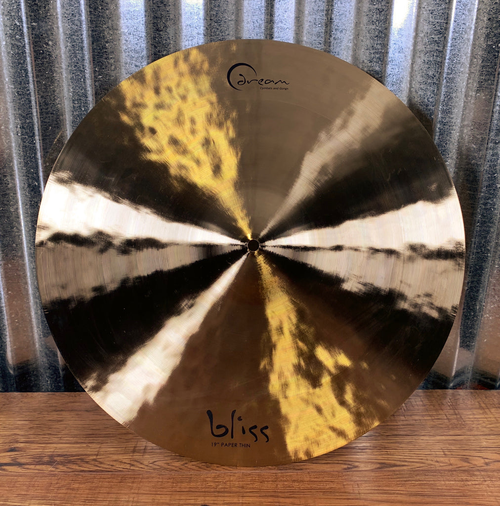 "Dream Cymbals BPT19 Bliss Hand Forged & Hammered 19"" Paper Thin Crash"