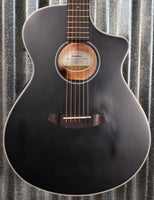 Breedlove Discovery Concert Satin CE Black Mahogany Acoustic Electric Guitar B Stock #3709