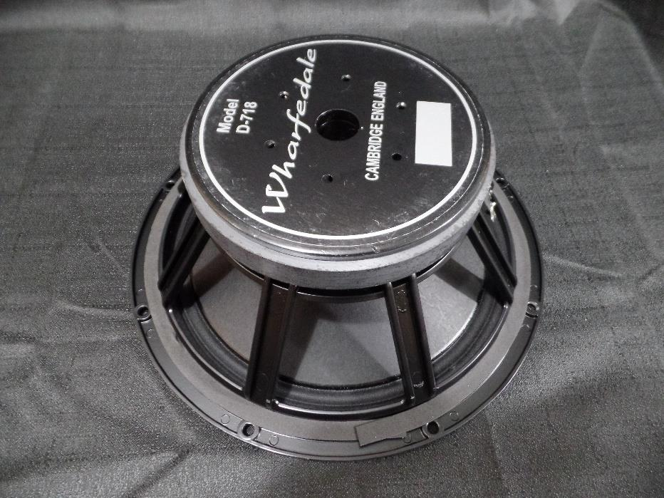 "Wharfedale Pro D-718 12"" 200 Watt 16 Ohm Replacement Bass Sub Speaker"