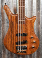Warwick German Pro Series Thumb BO Natural 4 String Bass & Bag #2719