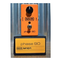 Dunlop MXR M101 Phase 90 Phaser Classic Orange Guitar Effect Pedal