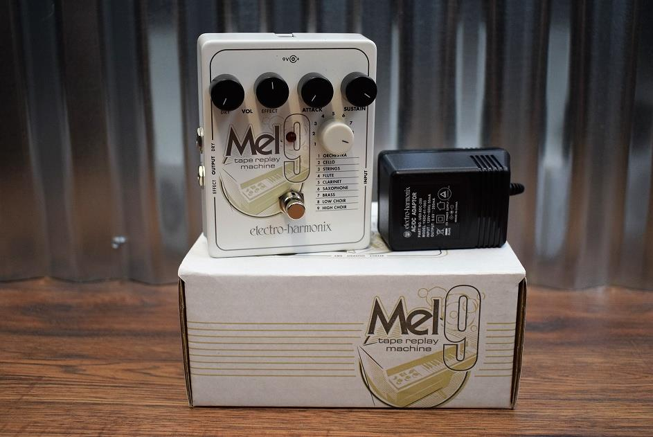 Electro-Harmonix EHX MEL9 Tape Replay Machine Guitar Synth Effect Pedal