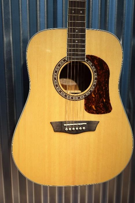 Washburn Heritage HD20S Sold Spruce Top Dreadnought Acoustic Guitar #7286